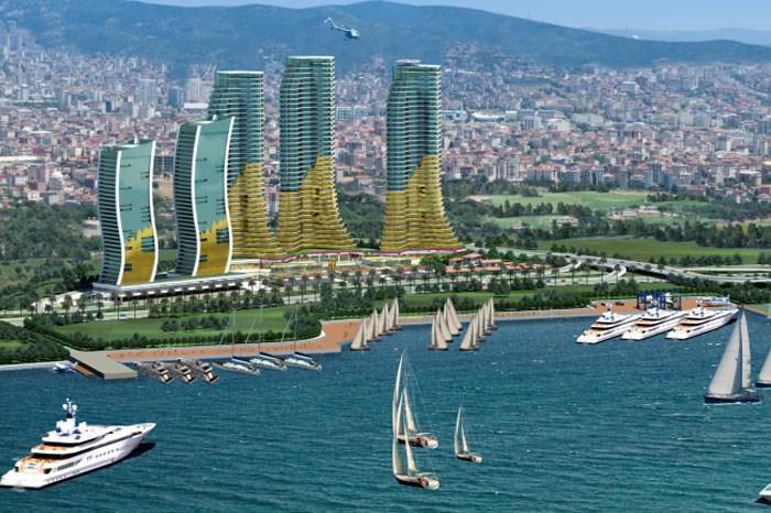 مشروع عقاري إيست مارينا اسطنبول الأناضول كارتال